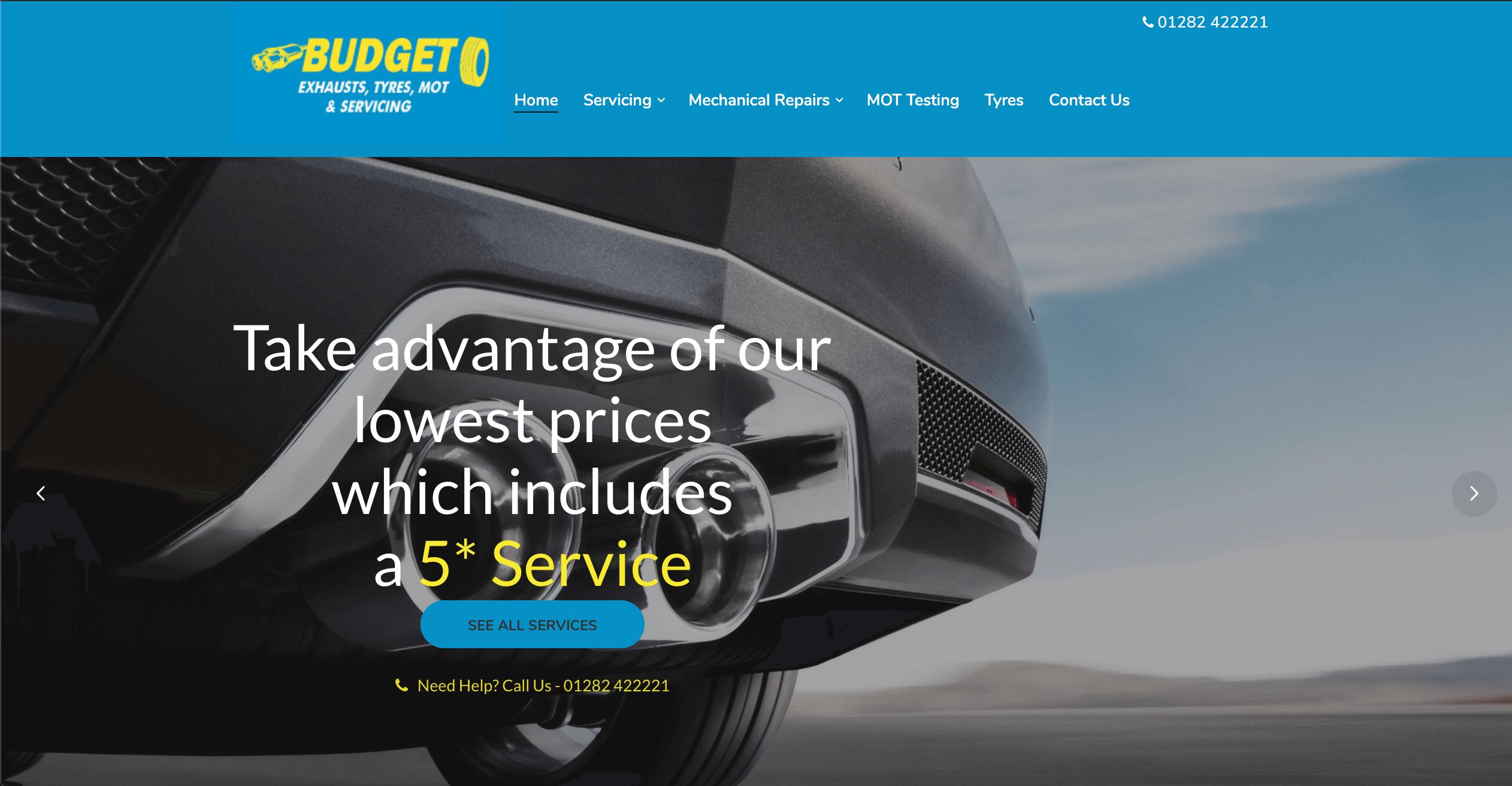 Budget Exhaust & Tyres